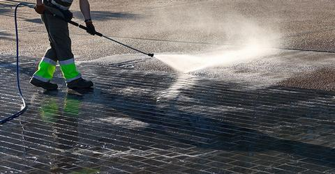 Commercial Pressure washing Cleaning in Scotland and Glasgow